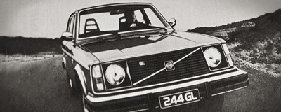 Volvo 244 GL Oldtimer Front